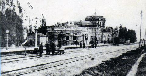 Станция Ворожба 1905г.