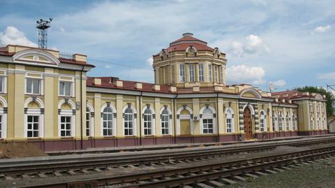 Современный вокзал станции